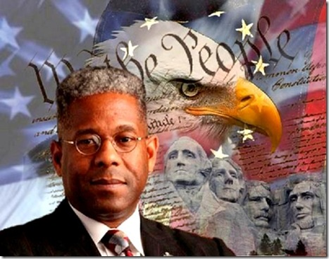 Allen West - Patriot backdrow