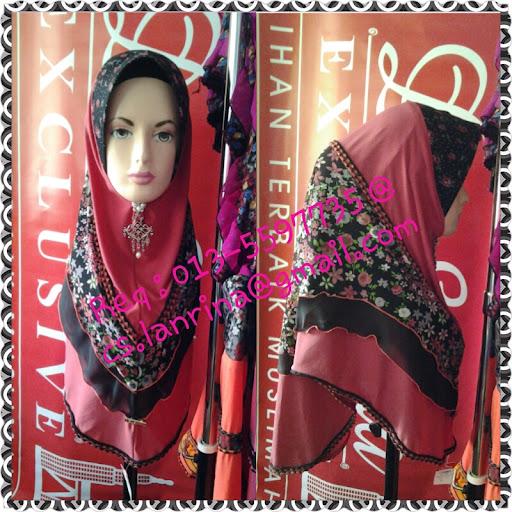 New Design Tudung de Salma Exclusive 2012- Tudung Warkah Cinta