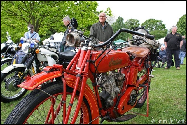 Retro Indian Motorcycle