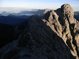 Summit ridge of Carstensz Pyramid (Ndugu Ndugu) (Robert Cassady, 2010)