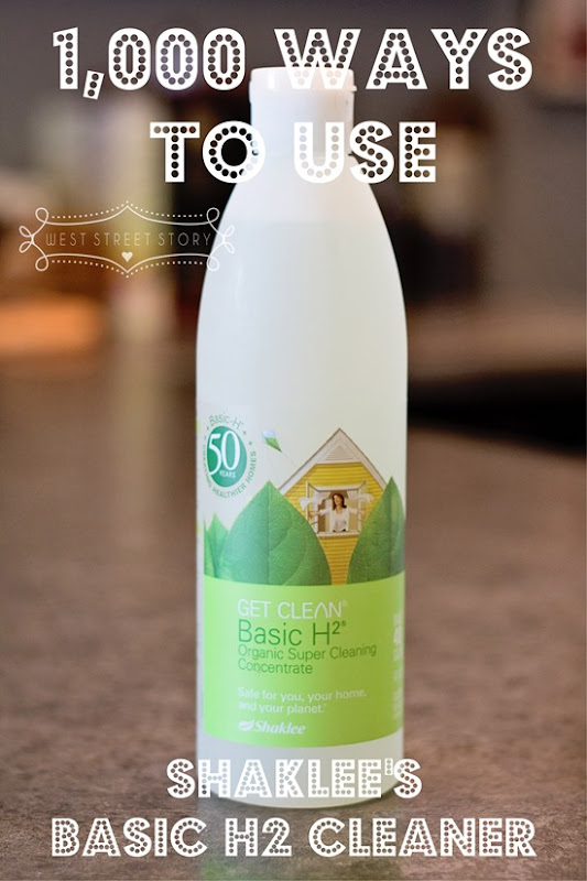 1,000 Different Ways to Use Shaklee Basic H2 Cleaner