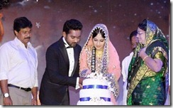 Asif ali marriage reception photos