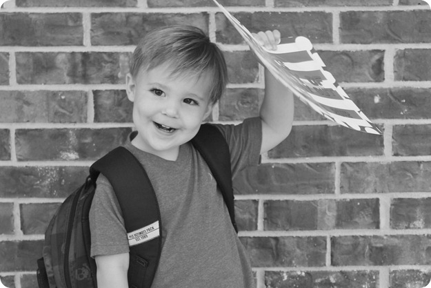 Nash's 1st day of School & Baylor Game 107