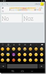 برنامج Emoji Keyboard للأندرويد - سكرين شوت 1