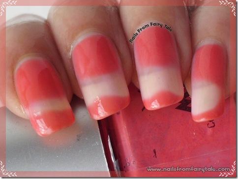 ylin mood nail polish - pink red hot 2
