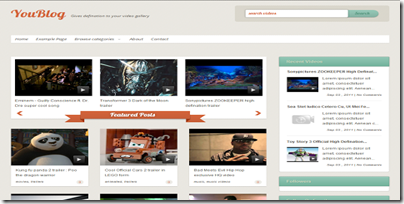 Yout-blog-video-blogge-template