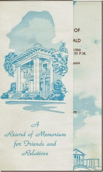 Funeral Card Front