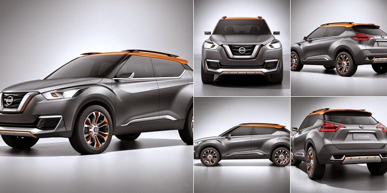 View Nissan Kicks Concept (2015)