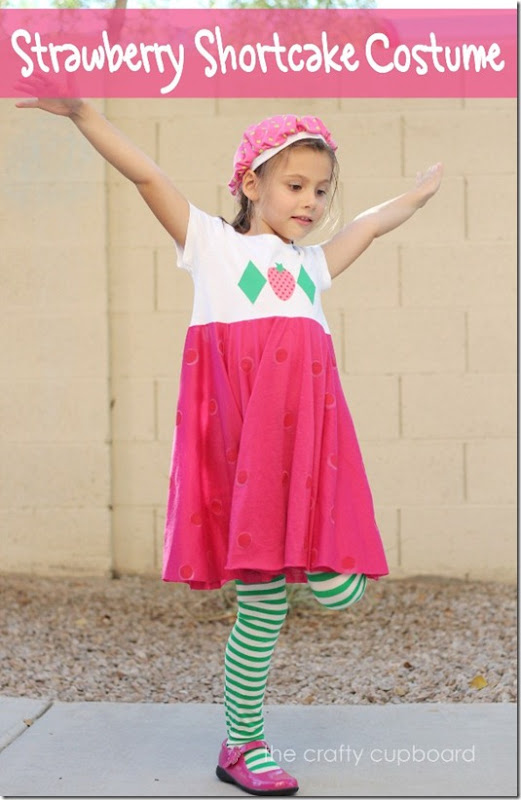 Strawberry Shortcake Costume by the Crafty Cupboard