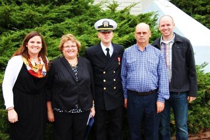 Mark Navy OCS Grad 20