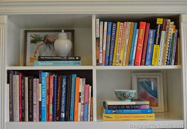 Real Life Styled Bookshelves
