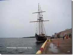 Peacemaker Summerside dock