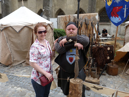 Obiective turistice Romania: cavaler sighisorean