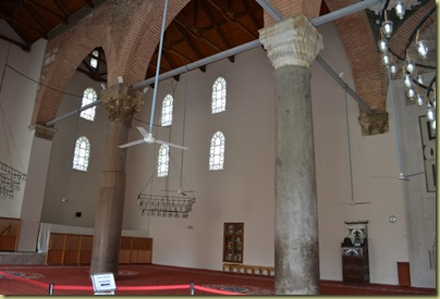 Isa Bey mosque reused capitols