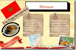 Morocco Informational Glog