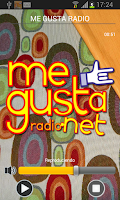 Screenshot of Megustaradio.net