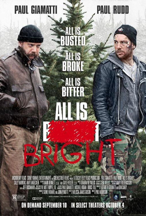 All Is Bright poszter, főszerepben Paul Giamatti és Paul Rudd