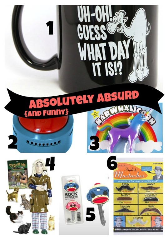 Funny Stocking Stuffers