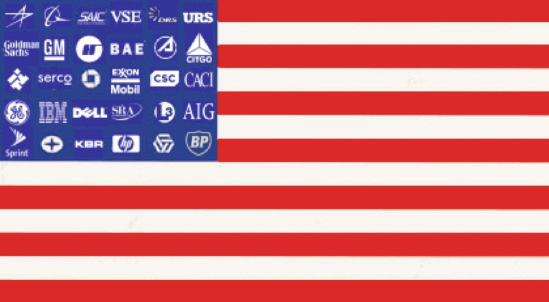 CC Photo by Flickr User 58687716 N05 Subject is  corporate flag