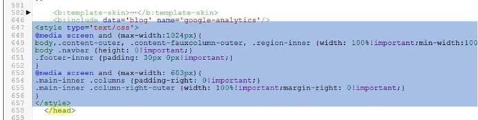 codice-responsive-blogger