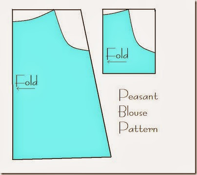 peasant blouse pattern