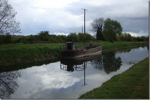 Castleknock Canal Barge