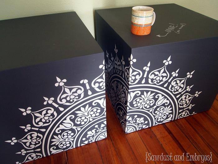 Chalkboard Cubes {Sawdust & Embryos}
