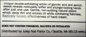 Julep Glycolic Hand Scrub