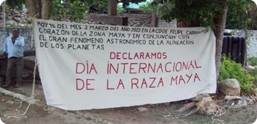 día raza maya