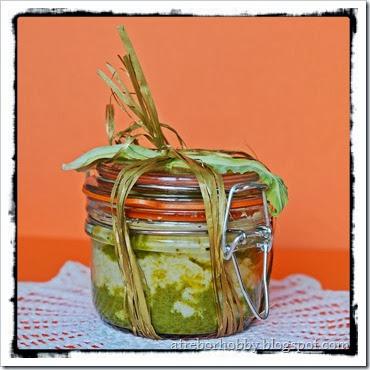 Sformatino di cavolfiore con verde di zucchine