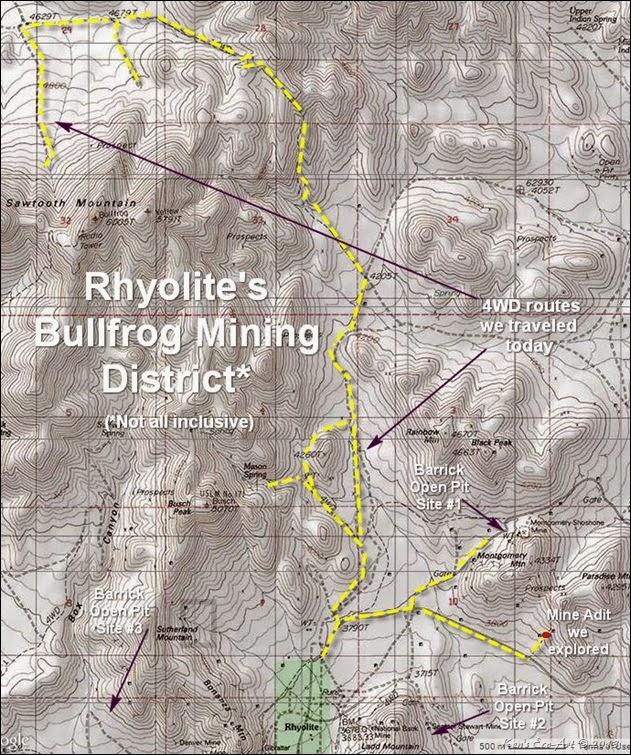 MAP - Rhyolite Topo-2