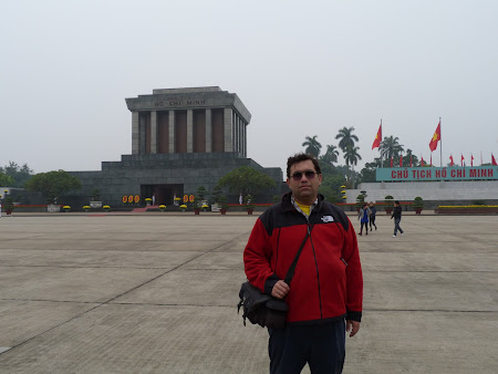 Obiective turistice Hanoi: Mausoleu Ho Chi Minh