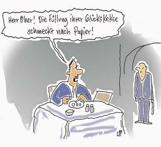 Lo Graf von Blickensdorf _ Cartoon _ im Chinarestaurantg
