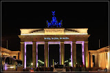 Brandenburger Tor - be berlin Slogans