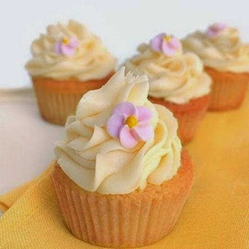 Cupcakes  με λεμόνι