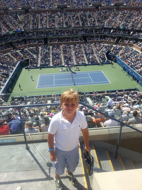 Arthur Ashe stadium; DJOKOVIC WINS WAWRINKA EPIC FOR FINAL