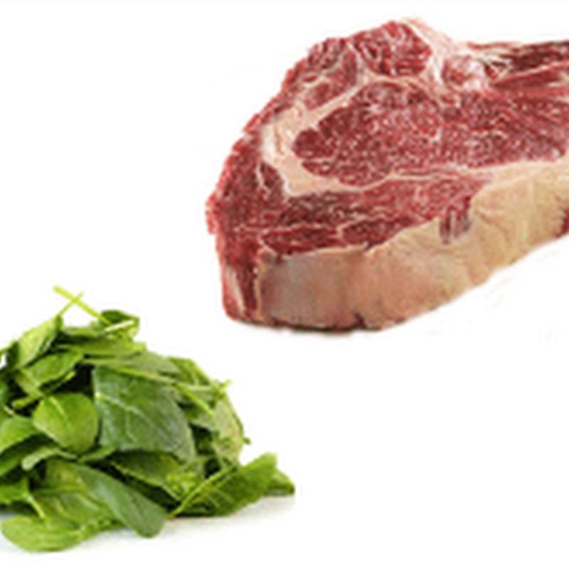 Ataques de gota: proteínas animales frente a proteínas vegetales