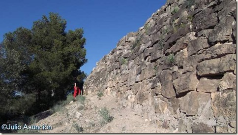 Puntal dels Llops - Muralla Oeste - Olocau