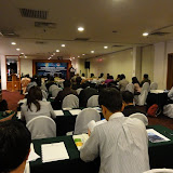 写真1 セミナー会場の様子 / Photo1 The venue of the seminar: Harbour View Hotel, Kuching