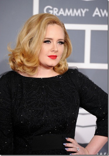 Adele 54th Annual GRAMMY Awards Arrivals pSLRj_1iIEil