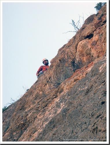 Via Todos los Santos 150m 6a  (La Pancha, Redovan) (Rocio) 0016