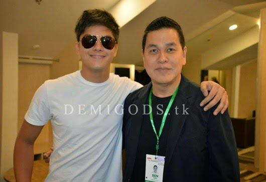 Bench The Naked Truth backstage Daniel Padilla