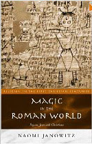 Cover of Naomi Janowitz's Book Magic In The Roman World