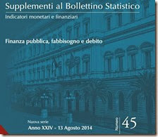 Supplementi al Bollettino Statistico. Agosto 2014