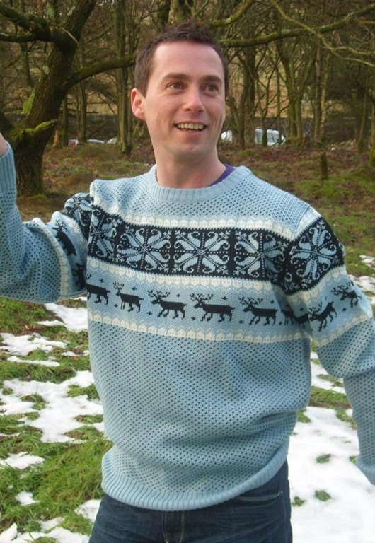 Christmas Jumper Cheese-O-Rama, £44, Crazy Granny Clothing