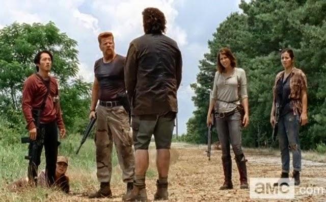 The Walking Dead (Crítica 5x05) Hay un voyerista que me está poniendo nervioso-1