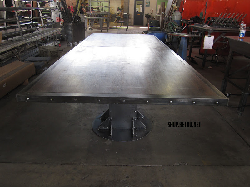 Vintage Industrial Conference Table And A Frame Vintage Industrial - Vintage industrial conference table