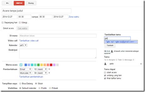 manajemen waktu dengan google calendar
