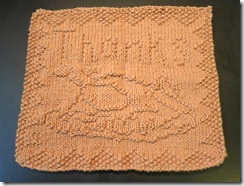 November 2012 Mid Month Dishcloth KAL