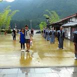 exit at Edo Wonderland in Nikko, Totigi (Tochigi) , Japan